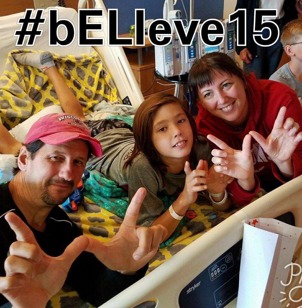 Eli Kassler Family in Hospital