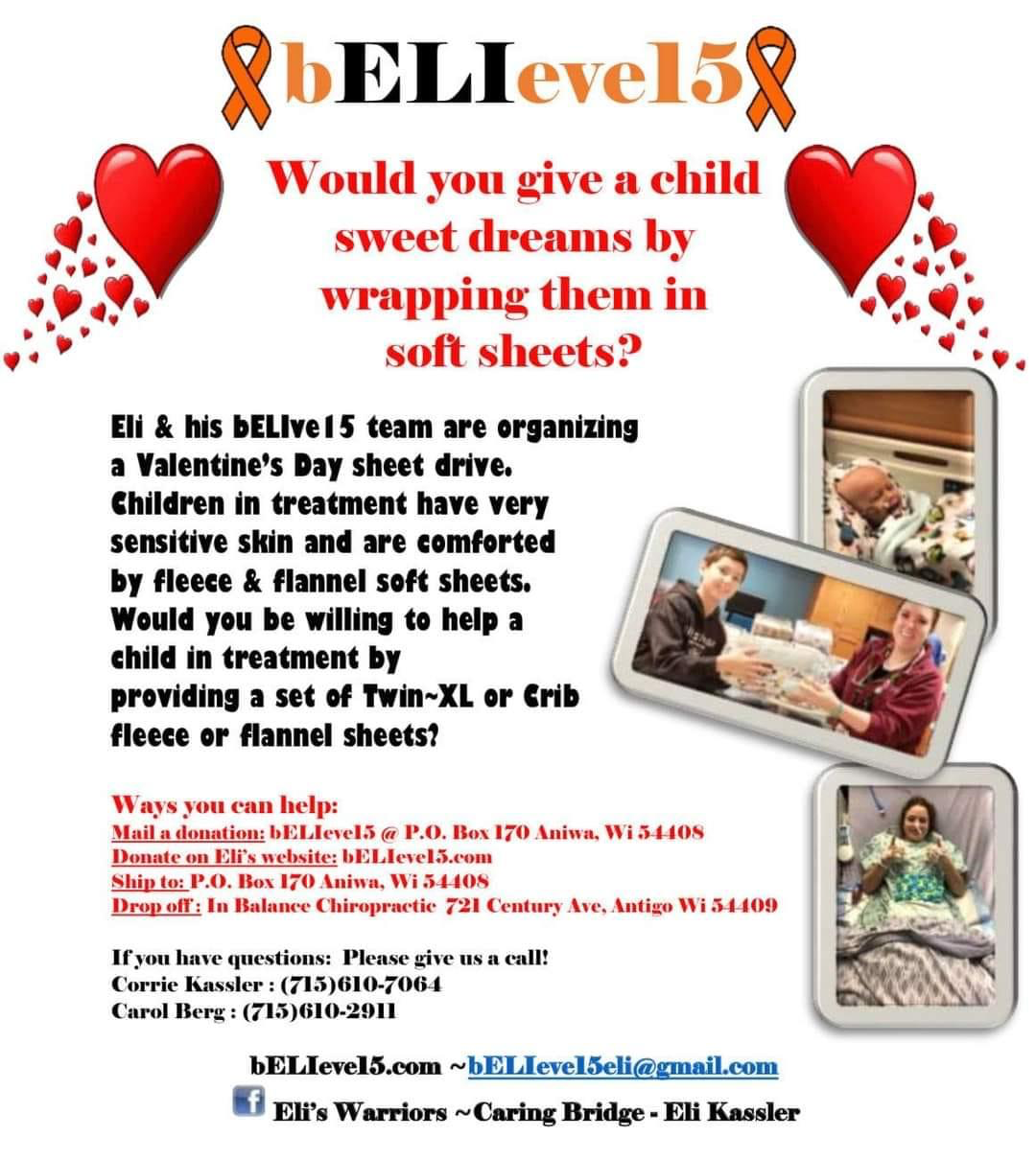 Eli's Soft Sheets Flyer
